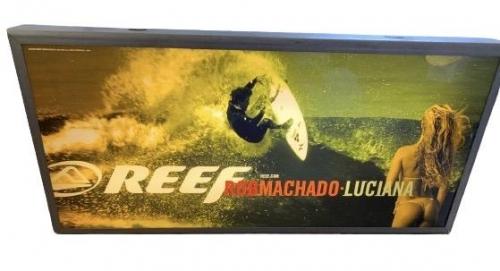 Reef Advertising backlight