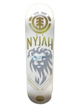Nyjah Huston Lion Deck Signed