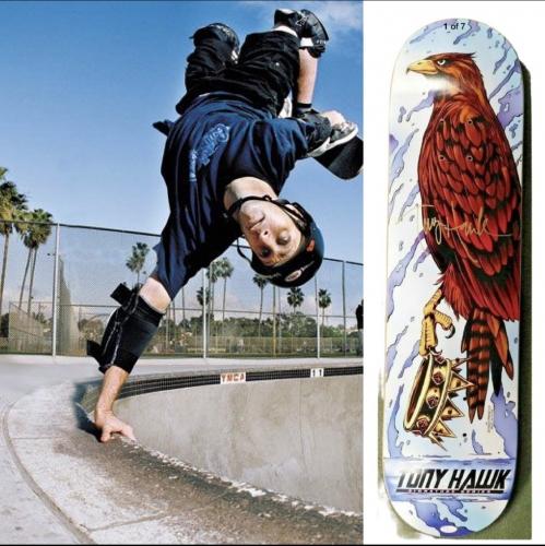 Tony Hawk crown deck